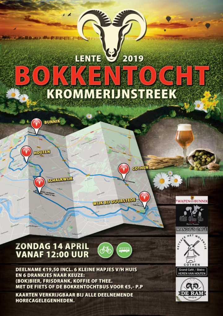 Bokkentocht Kromme Rijnstreek